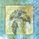 """Spa Gingko Postcard 2"" by DebbieDeWitt"