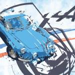 """Alpine A 110"" by getshaped"