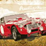 """Austin Healey 3000 Works"" by getshaped"