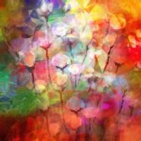 Flower Serenade Art Prints & Posters by Lutz Baar