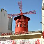 """Moulin Rouge Red Windmill"" by Wilford"