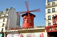 Moulin Rouge Red Windmill