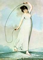 Jump Rope Pin Up