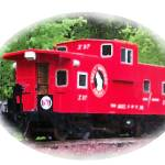 """063012 Red Caboose Montana"" by garlandoldham"