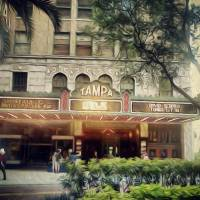 Tampa Theatre Art Prints & Posters by Andy Jeter