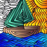 """Sail Boat"" by tararichter"