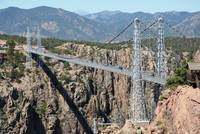 Royal Gorge Bridge in Summer