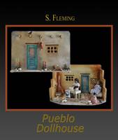 Poster Pueblo Doll House by S Fleming
