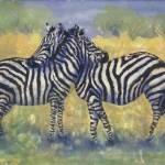 """Zebra Hug"" by DCHeslin"