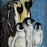 """Five Penguins"" by DCHeslin"
