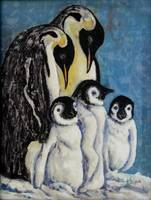 Five Penguins