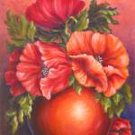 """Orange Poppies"" by DCHeslin"