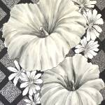 """Black and White Blooms"" by DCHeslin"