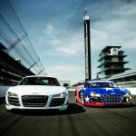 """Audi R8 GT and R8 Grand Am"" by roadandtrackphotos"
