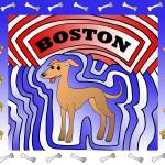 """Boston - A Custom Pet Collage"" by tararichter"