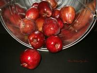 Red Apples in a Bucket