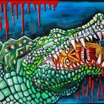 """Crocodile Lollipop"" by ArtPrints"