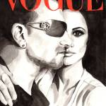 """Vogue. Bono & Penelope"" by feelingartsy"