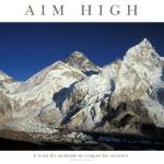 """aim-high_everest1"" by adventureart"