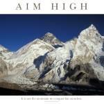 """aim-high_everest1"" by adventureart"
