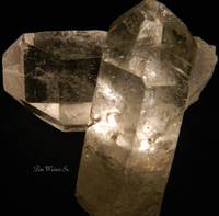 Universe Within Two Quartz Crystals