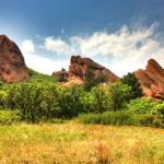 """""""Brillant Red Rocks"""" by Daphsam"""