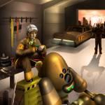 """""""Robot Garage"""" by digitalmuch"""