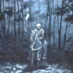 """knight at night"" by GoodrichGallery"