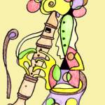 """The Recorder Player"" by Polylerus"