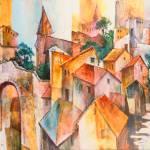 """""""Mediterranean Village"""" by jonasgerard"""