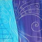 """""""violet spiral tree"""" by NinaBravoInfiniteFreedom"""