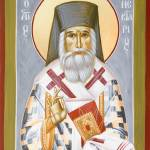"""St Nektarios of Aigina III"" by ikonographics"