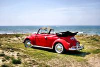VW on the beach - 2