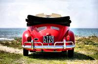 VW on the beach - 1