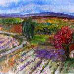 """""""Lavender Fields of Provence"""" by maryanneardito"""