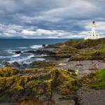 """Turnberry lighthouse 1"" by cmaccubbin"