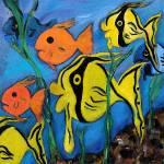 """Under the Ocean"" by Artworksbyliz"