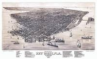 Key West Florida Panoramic Map
