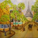 """Paris Stroll"" by Artworksbyliz"