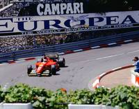 Alesi at 1994 Monaco Grand Prix