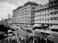 Lotta's Fountain, Market Street, San Francisco by WorldWide Archive
