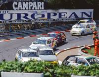 Renault Clios at Monaco 1994