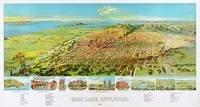 Salt Lake City Utah Panoramic Map