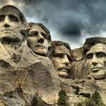 """Mount Rushmore, South Dakota in HDR"" by DryFlyPhotograhy"