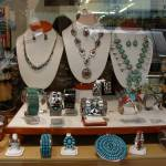"""Window Display of Native American Jewelry"" by Wilford"