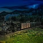 """""""Rocky Mountain Narrow Gauge Steamer"""" by ColoradoArt"""