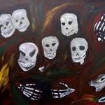 """Skeleton Family"" by losman310"