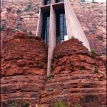 """""""Chapel of the Holy Cross - Sedona, Arizona"""" by Wilford"""