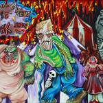 """Freak Show - The Sinister Circus"" by ArtPrints"