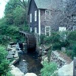 """Grist Mill with Water Wheel"" by memoriesoflove"